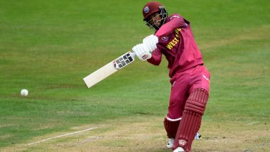 Shai Hope Misses Out on Hundred, Mustafizur Rahman Accounts for Him on 96 During WI vs BAN CWC 2019 Match